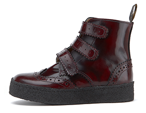 Oxblood High Shine Leather