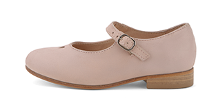 Nude Pink Leather