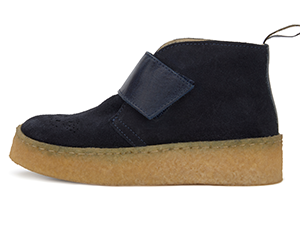Dark Navy Suede