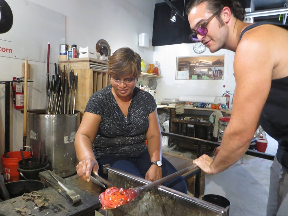 Glassblowing Lite Workshop at Hot Sand Glassblowing Studio