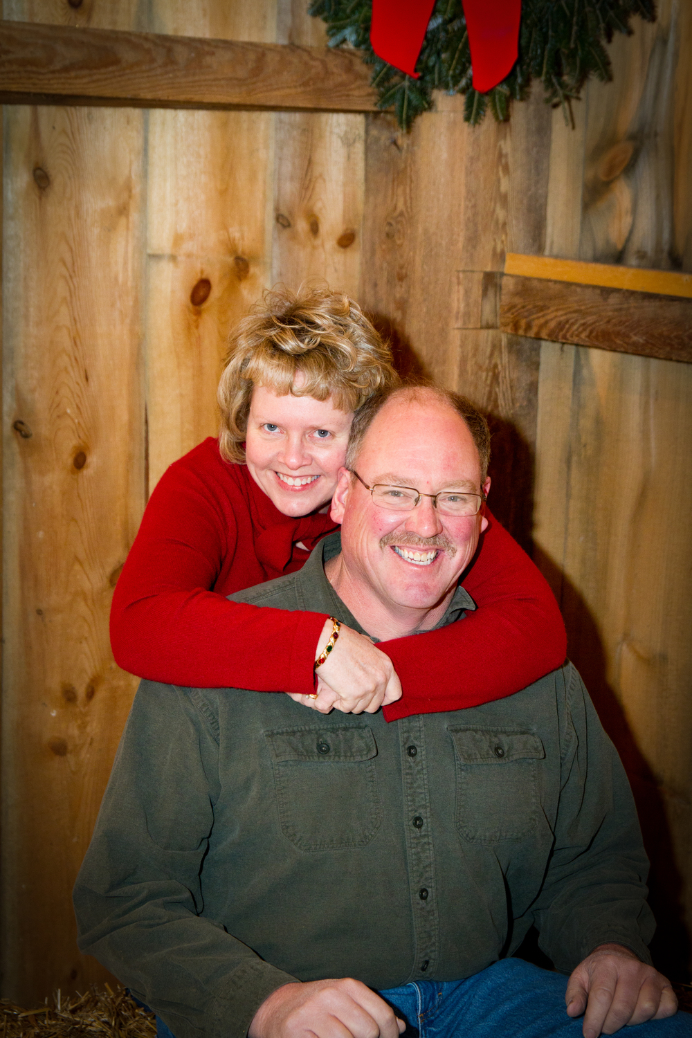 Ivan & Ruth Stahl. Current owners and operators of the Stahl Event Barn.