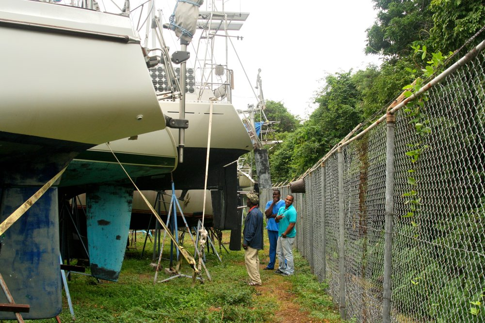 Grenada Ship Yard Bait Hives.jpg