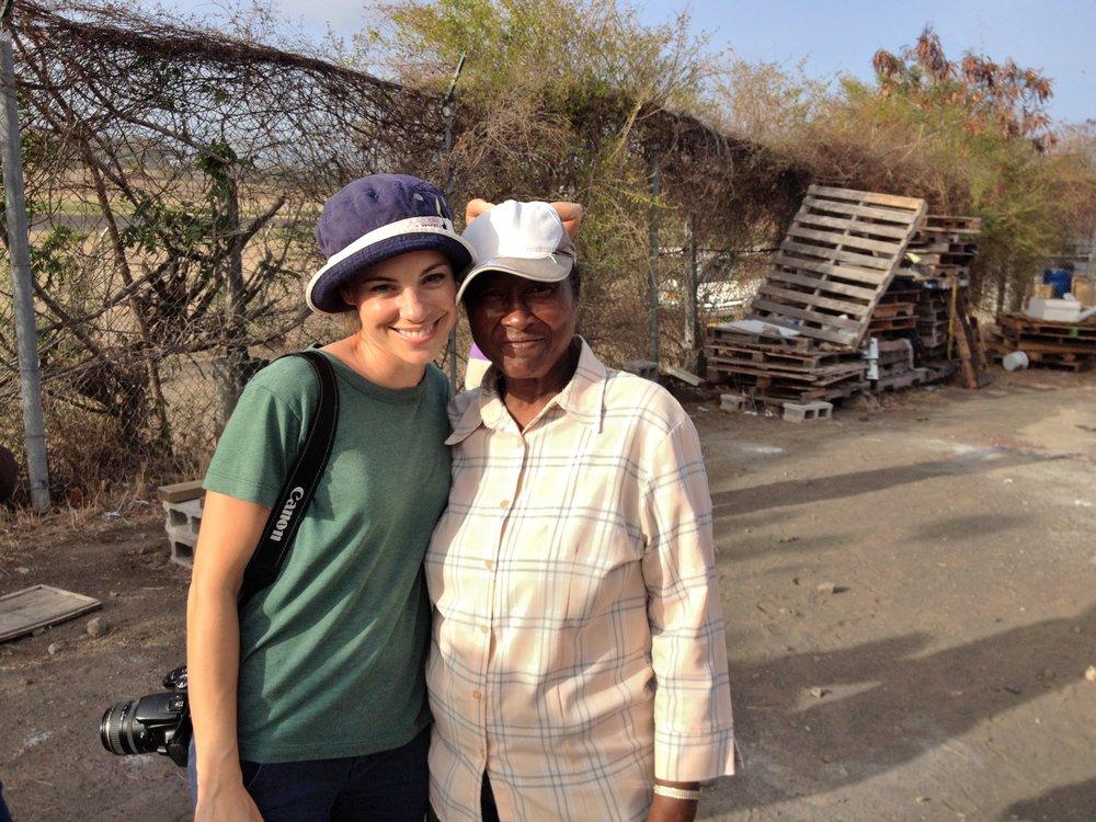 Grenada Beekeeper woman me.jpg