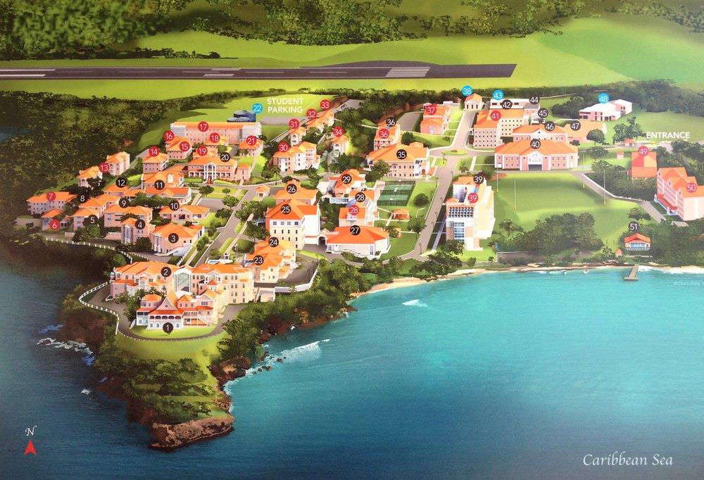 Grenada Map St George College .jpg