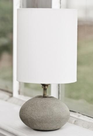 Concrete Orb Lamp