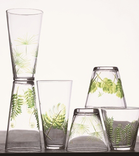 Fern & Frond Glass