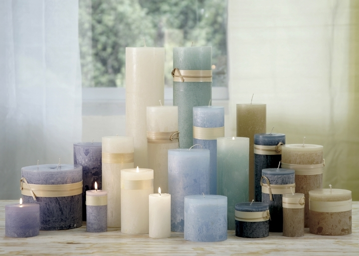 Cool Blues - Unscented Candles