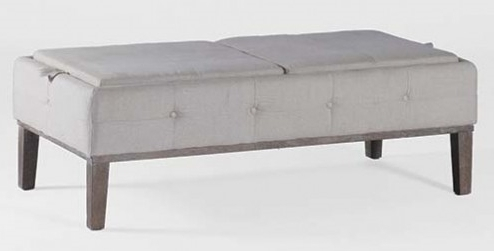 Cushioned Storage Coffee Table