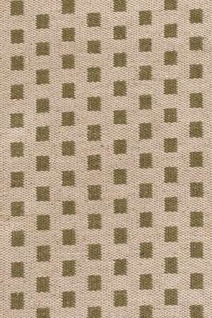 Green Checkered Jute Rug