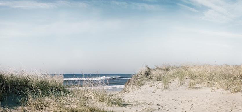 Montauk Beach Scene