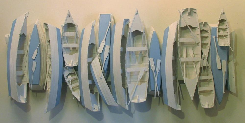 Dory Boat Panel