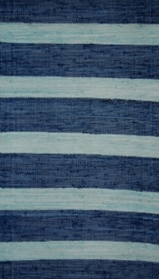 Sea & Sky Striped Rug