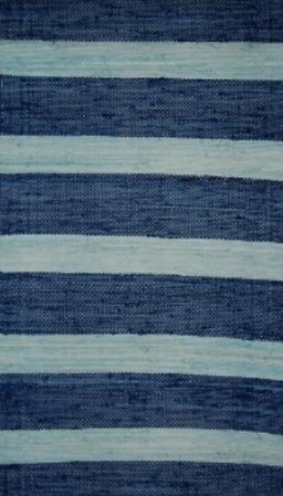 Sea & Sky Striped Rug