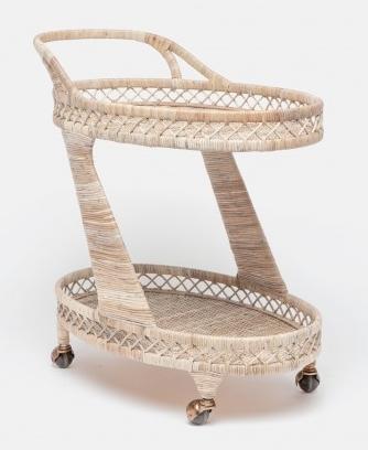 Rattan Bar Cart