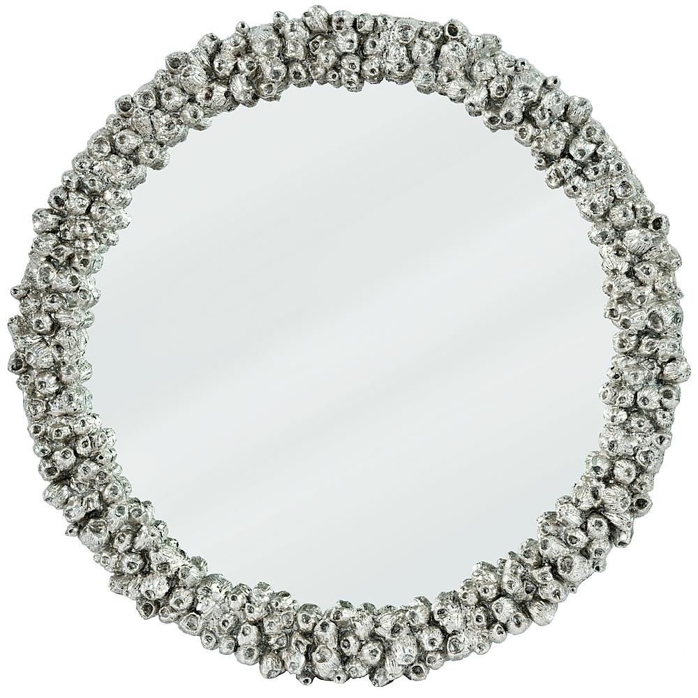 Silver Barnacel Mirror