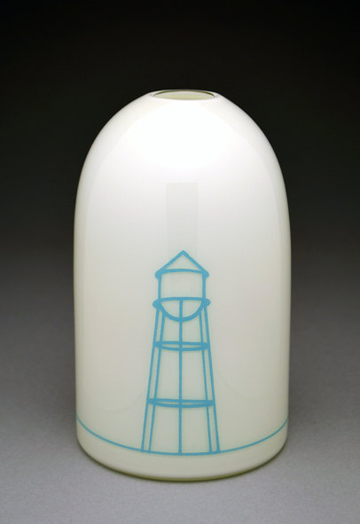 Water Tower Modern Vase