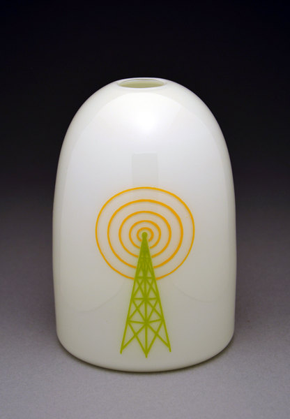 Cell Tower Modern Vase