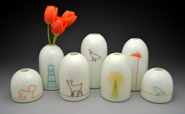 Assorted Modern Vases