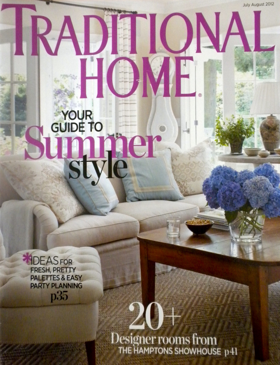 Traditional Home - July-Aug 2012