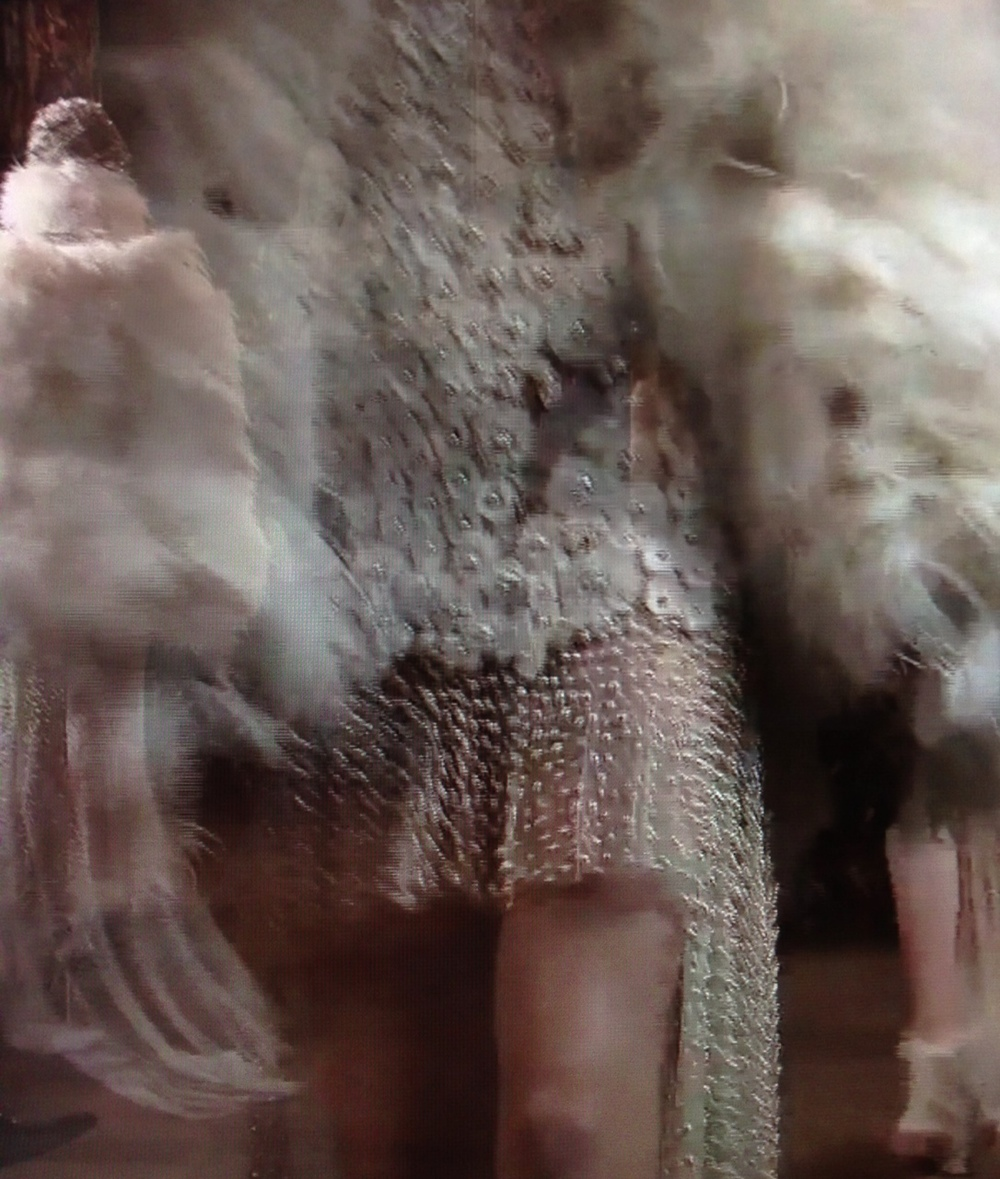 Photos taken from Alexander McQueen's official Autumn/Winter 2013 Women's Collection video