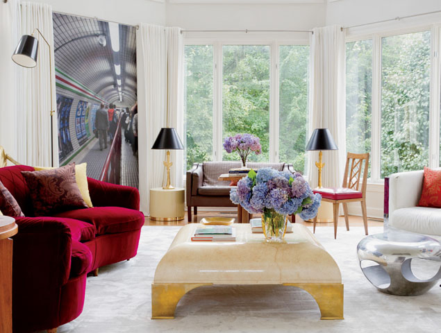 Interior Design by  Raji RM ; Photography by  Rikki Snyder