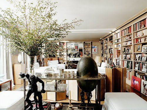 Yves Saint Laurent & Pierre Bergé home in Paris