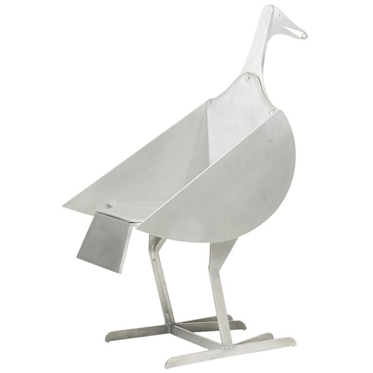 Oiseau d'Argent chair by François-Xavier Lalanne