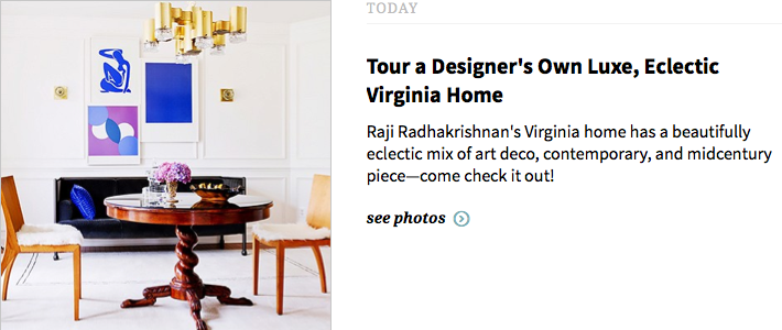 Raji RM Interior Design Washington DC New York Domaine Home