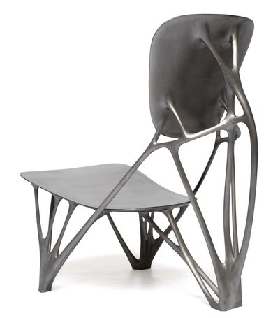 Joris Laarman's Bone Chair custom created by his lab