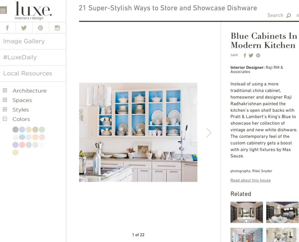 Raji RM Interior Design Washington DC New York Luxe magazine