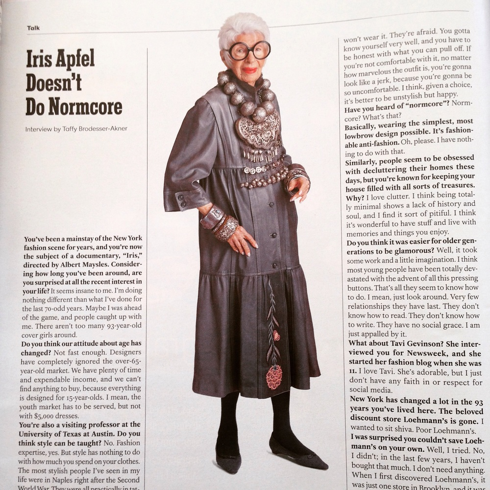 Iris Apfel Raji RM Interior Design Washington DC New York