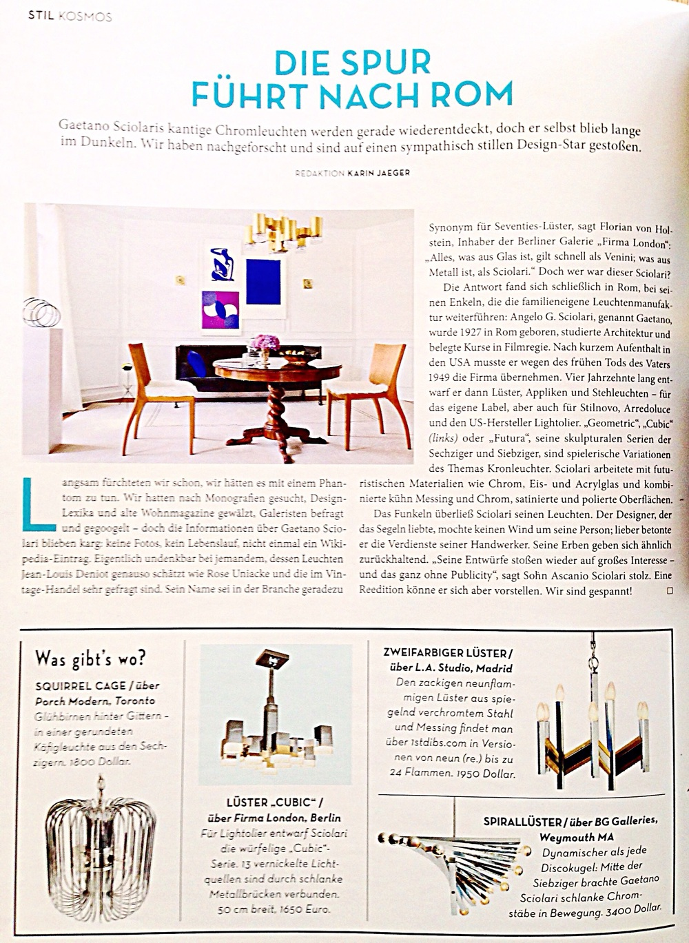 Raji RM Interior Designer Washington DC New York Architectural Digest AD Germany