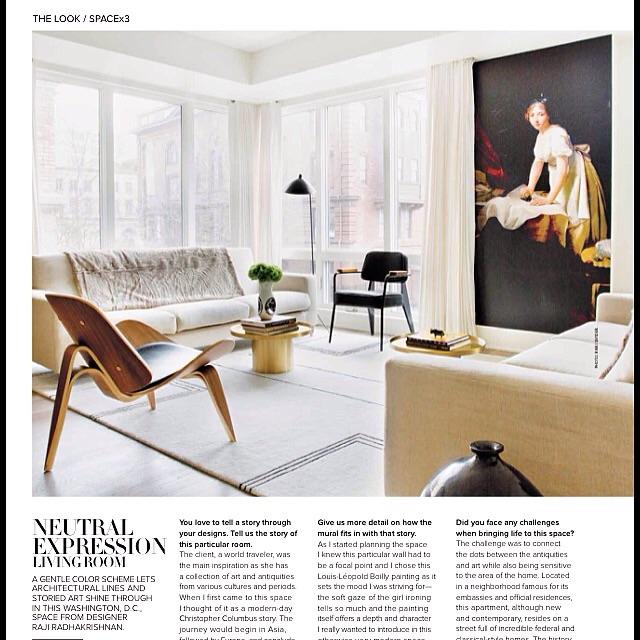 Press Thank You Luxe Magazine Raji Rm Interior Designer Washington Dc New York
