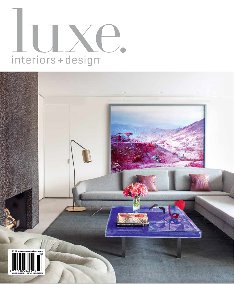 LUXE Interiors + Design - September-October 2015