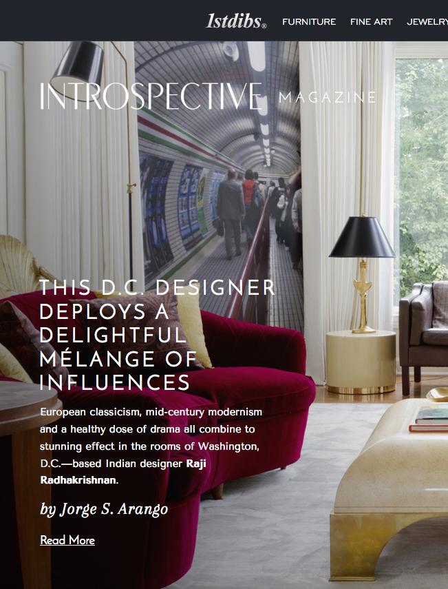 1stdibs INTROSPECTIVE Magazine, January 25, 2016