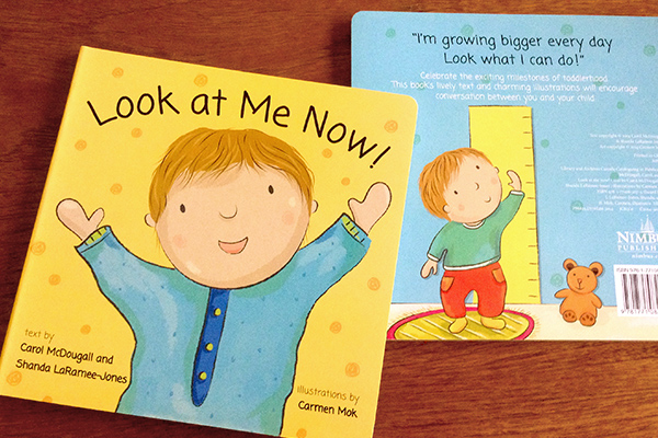 """Look At Me Now"" was published by Nimbus Publishing"