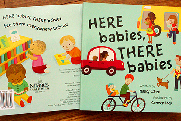 """Here Babies, There Babies"" was published by Nimbus Publishing"
