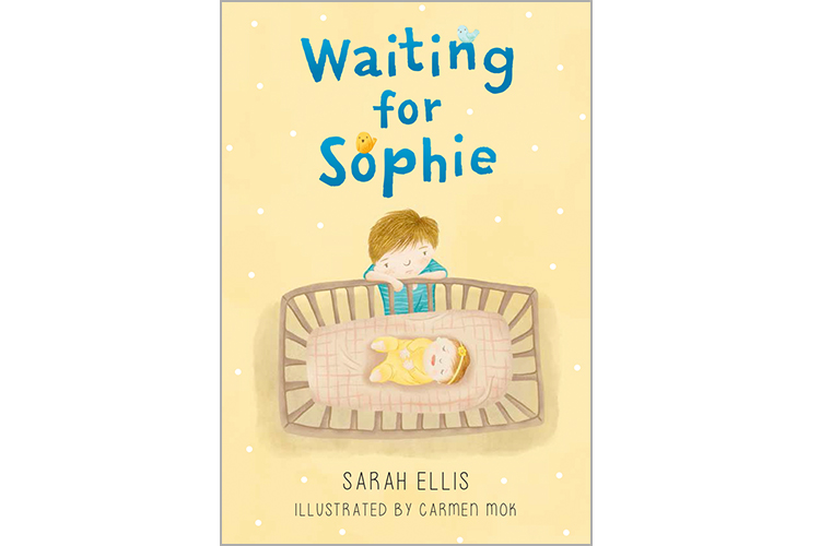 """Waiting for Sophie"" will be published by Pajama Press in spring 2017."
