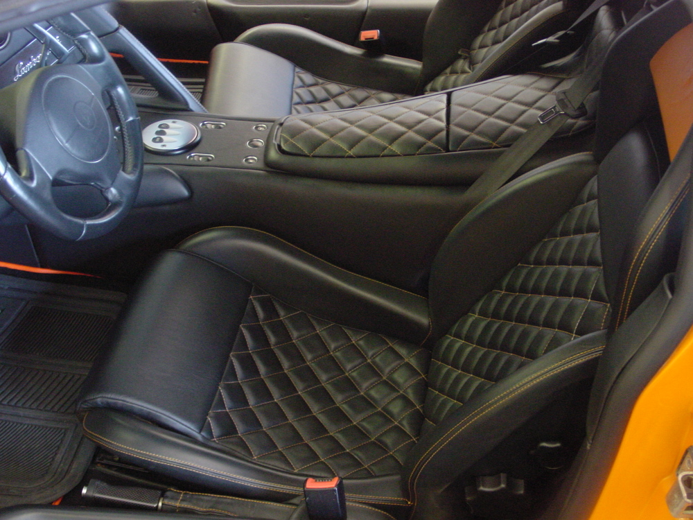 Custom Car Seat Fabrication Tritex Corporation