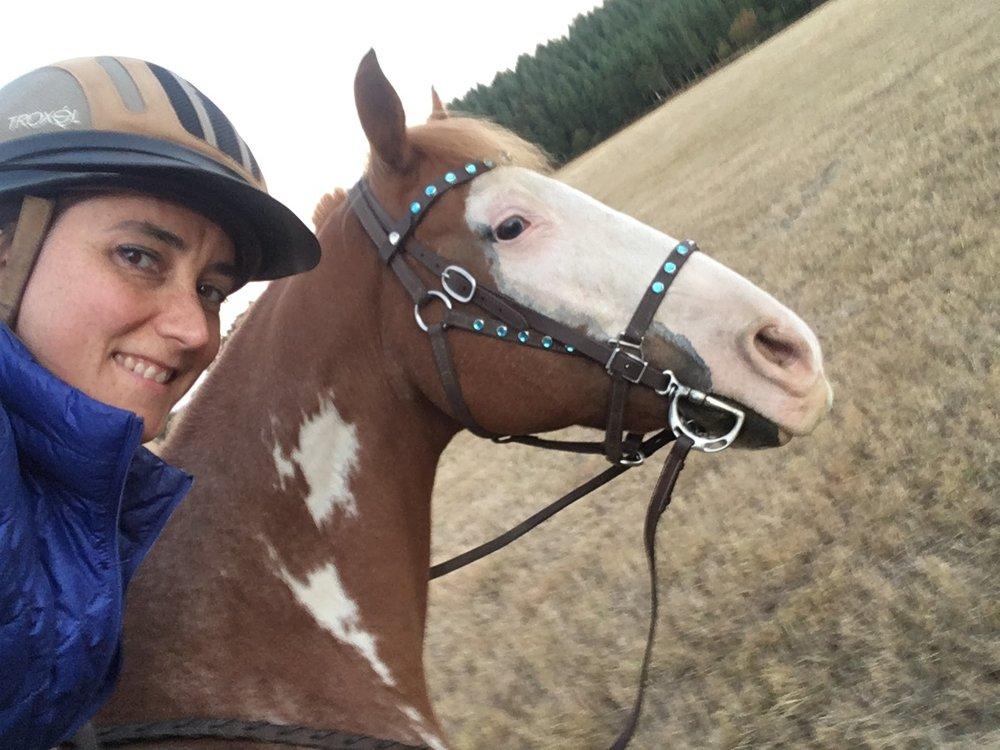 Saddle Selfie!