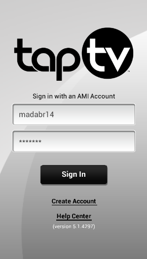 TapTV Controller