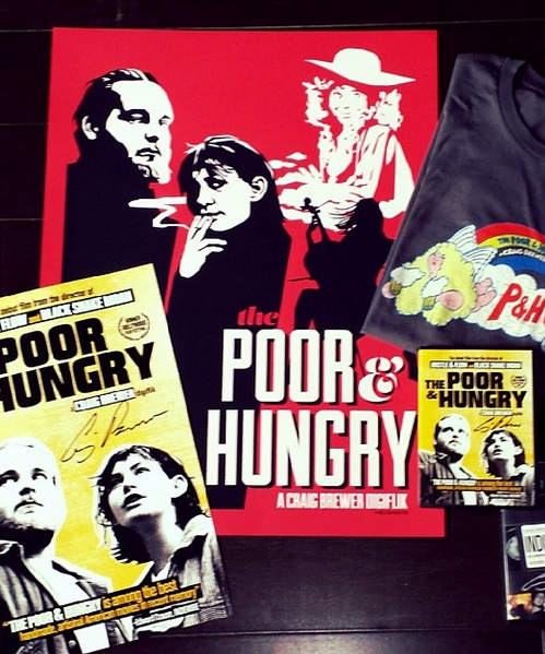 These limited edition posters were only available as part of the Poor & Hungry Deluxe Pack.
