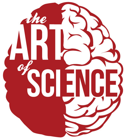 I made a logo for a show I'm organizing, the Art of Science, in which we've given biomedical scientific research imagery from scientists at St. Jude to 22 local Memphis artists and had them reinterpret as they wish. The culmination is an exhibition on June 24th at Marshall Arts.