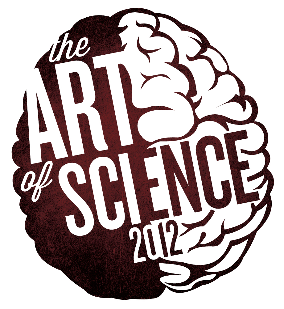 I updated the Art of Science logo for this year's show!