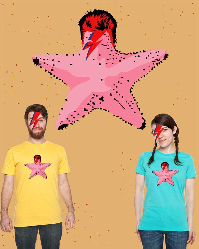 bblainee: Go to www.threadless.comand score my Ziggy Starfish design to help it get printed! LINK HERE PLEEZ & THANK YEW! Help Blaine get this shirt printed on Threadless!
