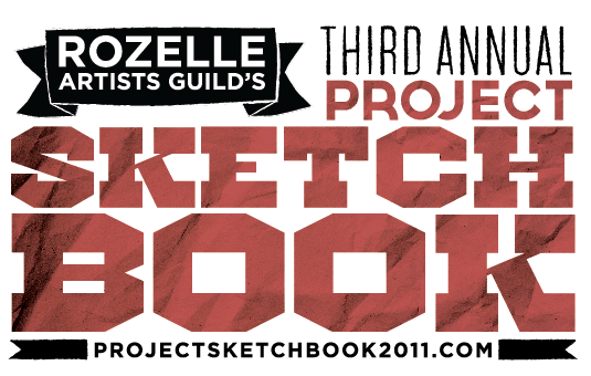I'm working on this year's Project Sketchbook stuff right now, starting with the logo. We're fundraising right now through IndieGoGo—please give a little if you can! There's a whole buncha fun stuff to be had in the perks.