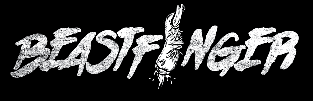 Beastfinger logo for new local band—collaboration with Ronnie Lewis for ERF.