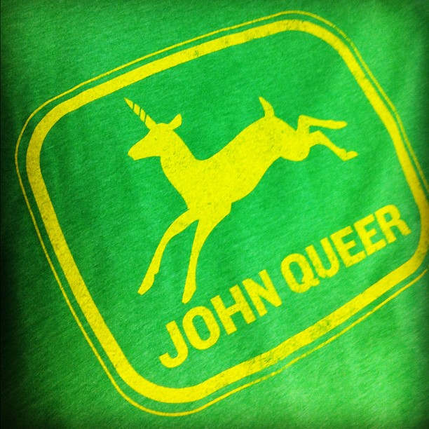 John Queer shirt design for Delta Sol Farm! Getchu one at the Farmers Market, Saturdays 8a-1p at First Congo.