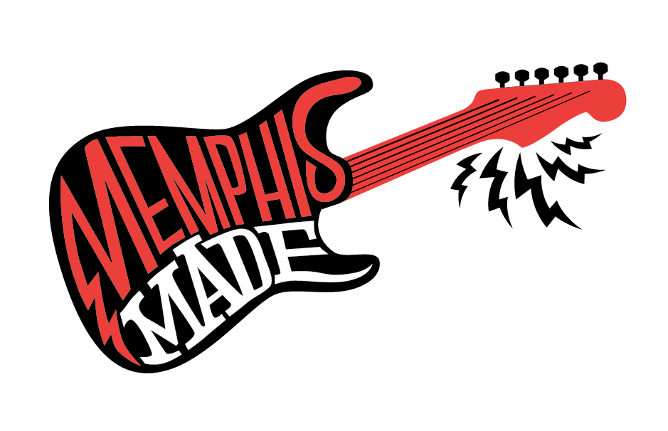 Rejected logo for Memphis Made, the locals show on Rock 103. I like it anyway!