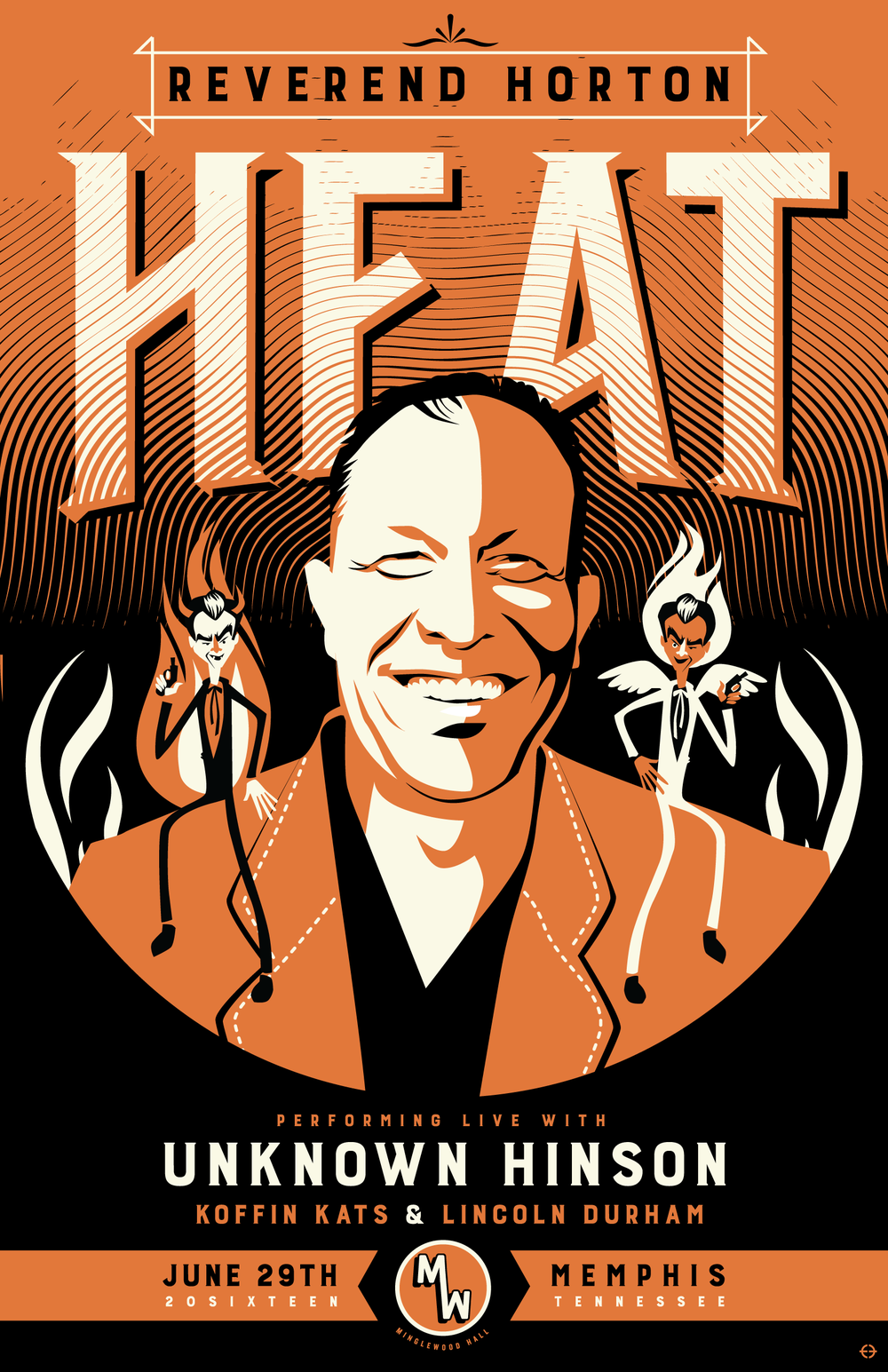 Reverend Horton Heat with Unknown Hinson